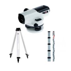 Оптический нивелир ADA Prof X32 + Рейка ADA STAFF 5 + Штатив ADA Light S