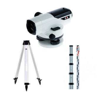 Оптический нивелир ADA Prof X32 + Рейка ADA STAFF 5 + Штатив ADA Light S (A00119_K1)