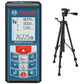 Bosch GLM 80 + BS 150 Professional | Дальномер лазерный + штатив (0.615.994.0A1)