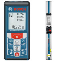 Bosch GLM 80 + R 60 | Дальномер лазерный + направляющая (0601072301)