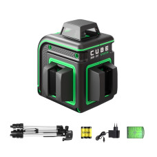 ADA Cube 360-2V Green Professional Edition | Нивелир лазерный  (A00571)