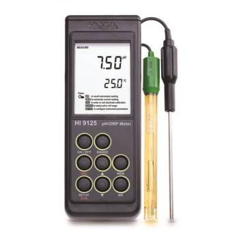 HI 9125 | рН/T/ -метр портативный влагонепроницаемый