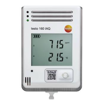 Testo 160 IAQ | WiFi-логгер данных с встроенными сенсорами температуры, влажности, CO2 и атмосферного давления (0572 2014)