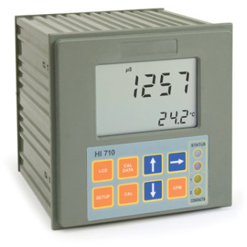 HI 710222-2 | Промышленный поточный контроллер проводимости и ТДС