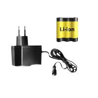 Зарядное устройство + литий ионный аккумулятор ADA (A00536)