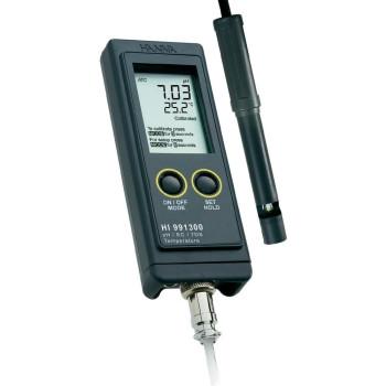HI 991300 | pH-метр/кондуктометр/термометр портативный водонепроницаемый