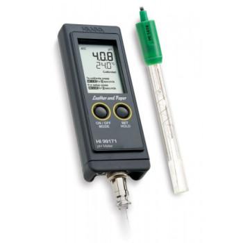 HI 99171 | Портативный влагозащищенный рН-метр/термометр