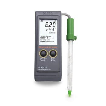 HI 99121 | рН-метр/термометр для почв и торфа