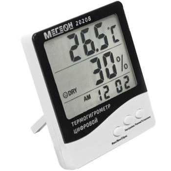 МЕГЕОН 20208 | Термогигрометр настольный (00000003389)