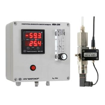 ИВА-208-Д | Измеритель влажности сжатого воздуха и технологических газов
