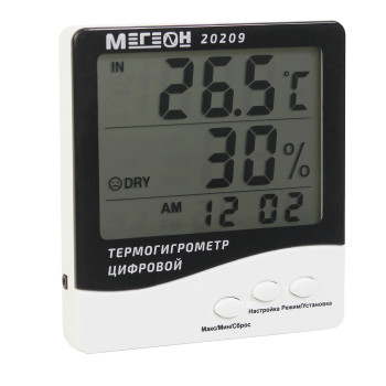 МЕГЕОН 20209 | Термогигрометр настольный