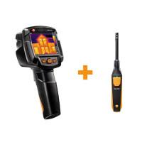 Testo 872 + 605i | Комплект тепловизор с термогигрометром (0560 8724)
