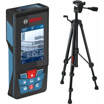 Bosch GLM 120 C + BT 150 Professional | Дальномер лазерный + штатив (0.601.072.F01)