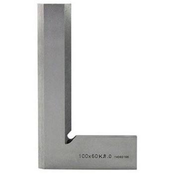 Угольник УЛП 100х60 | поверочный лекальный плоский