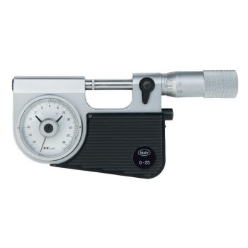 МР-75 0.01 | Микрометр рычажный с отсчетным устройством, встроенным в скобу