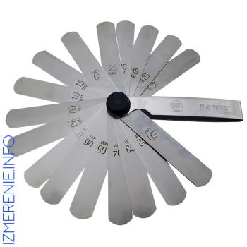 Набор №2 70 мм | Набор щупов измерительных