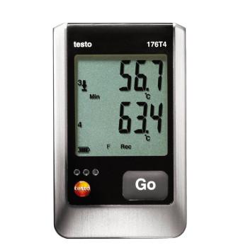 Testo 176 T4 | 4-х канальный логгер температуры (0572 1764)