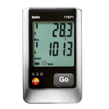 Testo 176 P1 | 5-х канальный логгер температуры, влажности, давления (0572 1767)