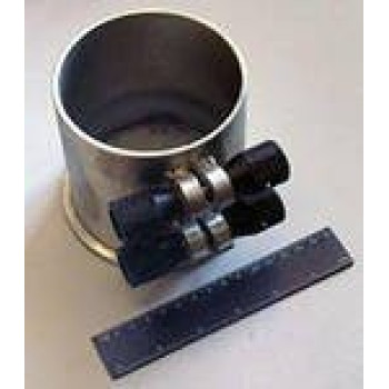 Форма цилиндра ФЦ-100 (100х150, съёмное дно) (поверенная)