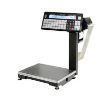 МАССА-К ВПМ-15.2-Т1 | Торговые печатающие весы электронные с устройством подмотки ленты