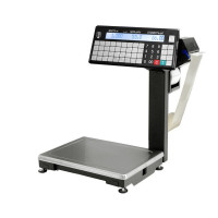 МАССА-К ВПМ-32.2-Т1 | Торговые печатающие весы электронные с устройством подмотки ленты