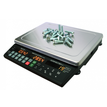 МАССА-К МК-6.2-С21 | Настольные счетные весы электронные