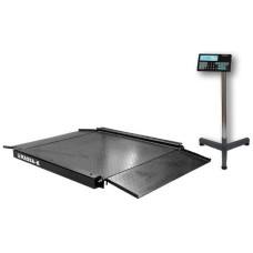 МАССА-К 4D-LA-2-1000 | Промышленные низкопрофильные весы электронные