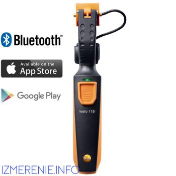 Testo 115i | Термометр для труб (зажим) с Bluetooth (0560 1115)