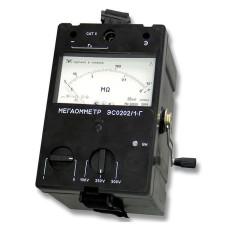 ЭС0202/1Г, ЭС0202/2Г | Мегаомметр