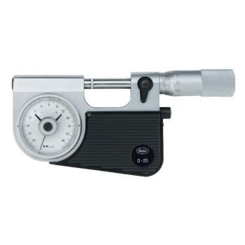 МР-25 0.01 | Микрометр рычажный с отсчетным устройством, встроенным в скобу