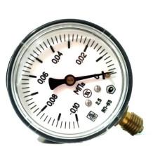 Вакуумметр с радиальным штуцером | ∅63 кПа