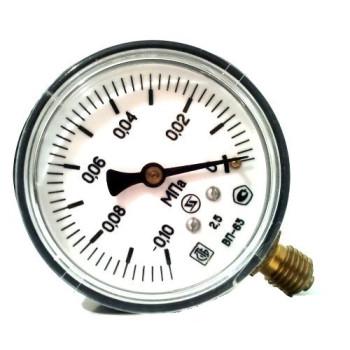 Вакуумметр с радиальным штуцером | ∅63 мм