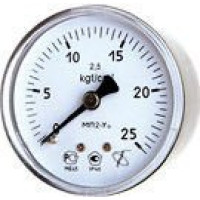 Вакуумметр с осевым штуцером | ∅63 мм