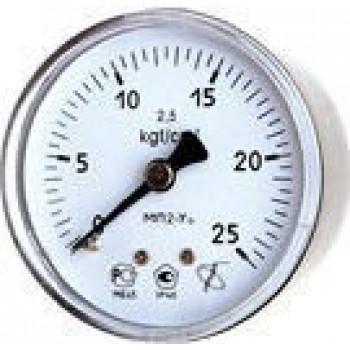 Вакуумметр с осевым штуцером | ∅100 мм