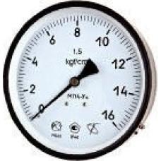 Мановакуумметр с осевым штуцером  ∅100 | -0,1…2,4 МПа
