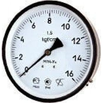 Мановакуумметр с осевым штуцером | ∅160 мм