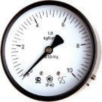 Манометр с осевым штуцером | ∅160 мм