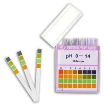 Универсальные индикаторные полоски pH-Fix 0-14, шаг 1,0 (100шт)