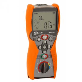Измеритель напряжения прикосновения и параметров устройств защитного отключения