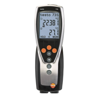 Testo 735-2 | Термометр трехканальный