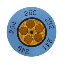 Testoterm +116 ... +138 °C | Круглые индикаторы