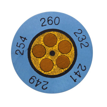 Testoterm +116 ... +138 °C | Круглые индикаторы (0646 0074)