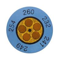 Testoterm +171 ... +193 °C | Круглые индикаторы