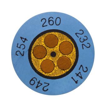 Testoterm +199 ... +224 °C | Круглые индикаторы (0646 0077)
