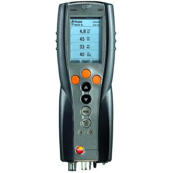 Testo 340 | Газоанализатор, стандартный 3-х сенсорный комплект без зонда