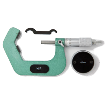 МСИ-45 0.01 | Микрометр призматический для семилезвийного инструмента