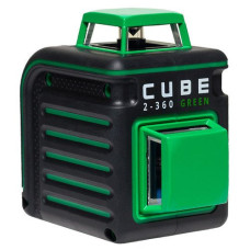 Ada Cube 2-360 Green [ Basic, Home, Professional, Ultimate Edition ] Нивелир лазерный