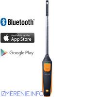 Testo 405i | Термоанемометр с Bluetooth, управляемый со смартфона/планшета