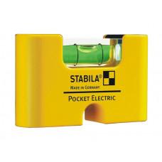Stabila Pocket Electric (1гориз., точн. 1мм/м) | Уровень