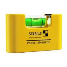 Stabila Pocket Magnetic | Уровень строительный